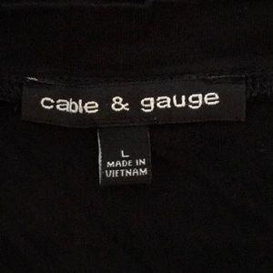 Cable & Gauge Tops - Cable & Gauge V-neck